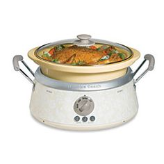 @Overstock.com - Hamilton Beach 3-in-1 Slowcooker - Easily prepare soups, casseroles, pot roasts, curries, and more with this three-in-one slowcookerVersatile appliance offers three heat settings and three different size colored stoneware vesselsSlowcooker is a kitchen essential  http://www.overstock.com/Home-Garden/Hamilton-Beach-3-in-1-Slowcooker/4093487/product.html?CID=214117 $49.99