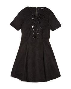 2197efd35368 Miss Behave Girls  Faux Suede Dress - Big Kid Kids - Bloomingdale s