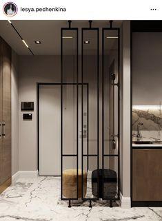 Living Room Partition Design, Room Partition Designs, Hallway Designs, Modern Bungalow House Design, Home Entrance Decor, Home Building Design, Showroom Design, Lobby Design, Home Interior Design