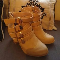 Booties Heeled booties. Lightly worn. Side 6. Shoes Ankle Boots & Booties