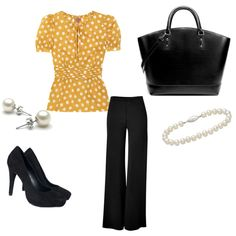 Work Outfit, created by pattiwoods.polyvore.com