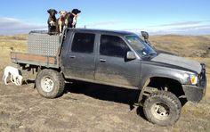 New Zealand Working Hilux
