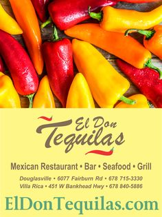 El Don Tequilas serves fresh and authentic Mexican food. See our daily specials!  ElDonTequila.com