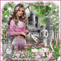 Fantasy Art Women, Fantasy Girl, Female Art, Photo Art, Cute Pictures, Creations, Maya, Gifs, Glitter