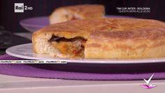 """""""Detto Fatto"""": la ricetta della pizza scialapopolo di Gianfranco Iervolino del 17 gennaio 2017. Un rustico goloso e ricchissimo."""