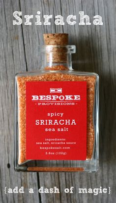 With a kaleidoscope of Bespoke sea salts to play with it's easy and fun to turn up the flavor on every meal.  Discover the possibilities at bespokesalt.com