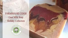 Farmhouse Cider   Making Handmade Soap   Holiday Collection https://youtu.be/DzuLpvsqnPU Today I'm making a Holiday scented soap called Farmhouse Cider.  It's now one of my favorite fragrances because of the Cinnamoney notes it has.  :)  I even like the name!  Thank you for joining me today!  I'll see you on the next video.  _________________________  - M y E q u i p m e n t --  Soap Mold - http://amzn.to/2mWTL2y Frother - http://amzn.to/2mQyOVk Soap Cutter -  http://amzn.to/2sPALa4 Hand…