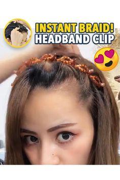 Twist Hairstyles, Headband Hairstyles, Curly Hair Styles, Natural Hair Styles, Twist Braids, Hair Tools, Hair Videos, Hair Designs, Hair Hacks