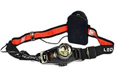Aviditi HL010 3 Watt Cree Zoomable LED Plastic Headlamp