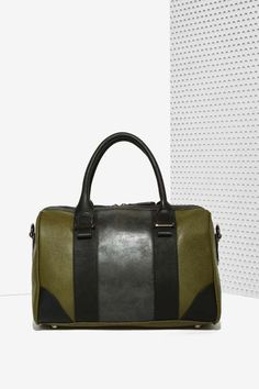 Nasty Gal x Nila Anthony Carry On Vegan Leather Bag