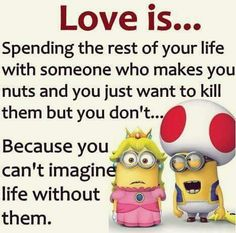 Love is .......