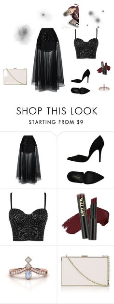 """Bez naslova #8"" by nevresalispahic ❤ liked on Polyvore featuring Elie Saab, PrimaDonna, L.A. Girl and Anya Hindmarch"