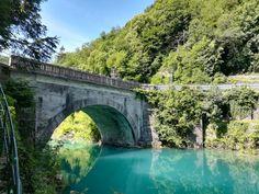 Most na soci. Slovenia