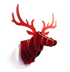 Cabeza de ciervo de cart n grande bucky decoraci n pinterest bucky - Cabeza ciervo carton ...