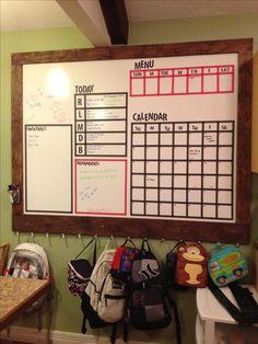 Kitchen Calendar Command Center