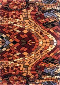 Area+Rugs   Colorful Mosaic Area Rug
