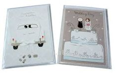 Znalezione obrazy dla zapytania handmade wedding cards