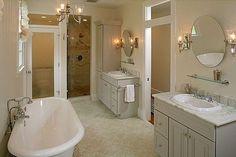 double sinks, great bath, separate shower...