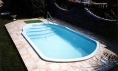 Laminátový bazén - Galie