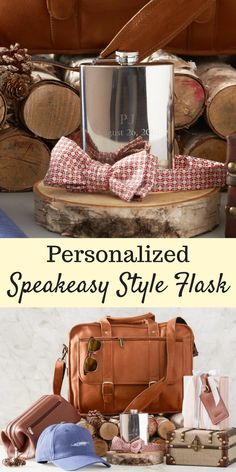 This personalized speakeasy style flask would make a perfect Father's Day gift idea! #ad #flask #personalized #drinking #gift #gifts #giftidea #giftideas #giftsforhim #giftsfordad #giftsforgrads