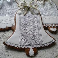 Hledání zboží: perníky / Zboží | Fler.cz Cake Cookies, Sugar Cookies, Gingerbread Cookies, Christmas Cookies, Honey Cake, Sugar Art, Royal Icing, Cookie Decorating, Cookie Cutters
