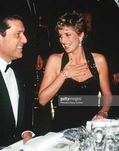 November 28 1994 Diana was guest of honor at an International Red Cross gala banquet/concert in the Hall of Mirrors at the Palace of Versailles for a French Foundation for Children dinner, drawing a standing ovation from almost 1000 guests.