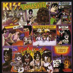 KISS - Unmasked ... my first piece of vinyl at age of 11 ..totally underrated.
