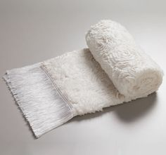 Davinci Liliana 65x220cm Fringed Throw Snow