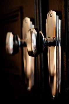 Art Deco door handles