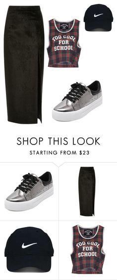 """""""Sem título #17"""" by liliassoares ❤ liked on Polyvore featuring Sally Lapointe, Nike Golf and Filles à papa"""