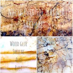 """""""Wax on Wednesdays! Where Ever the Wax May Take Me... Wood Glue , Shellac, and Rust"""" Encaustic Painting series on Youtube  https://youtu.be/zYl_sCRzIpg"""