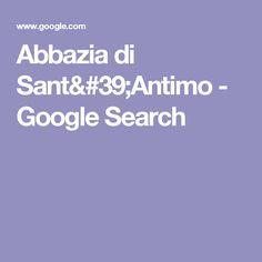 Abbazia di Sant'Antimo - Google Search
