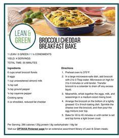 Green Vegetarian, Vegetarian Recipes, Cooking Recipes, Healthy Recipes, Lean Recipes, Healthy Meals, Breakfast Bake, Breakfast For Dinner, Dinner Meal