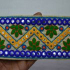 Sari Border Crafting Indian Laces fabric trims