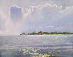 """Ливень над заливом"" | ""Cloudburst over the bay"" by Sergey Temerev"