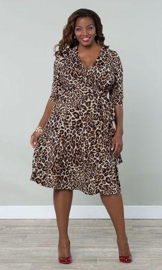 Essential leo van Kiyonna; deze jurk zou ik toch wel heel graag willen/durven dragen!