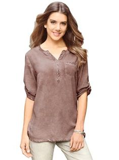 WITT international NL Kaftan, Tunic Tops, V Neck, Outfits, Products, Fashion, Fashion Styles, Tunic, Blouse