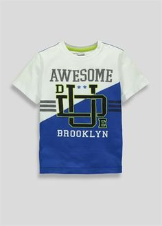 awesome dude collegic letters entwined graphic tshirt