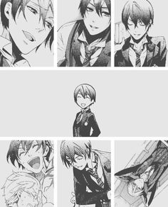 Vincent Phantomhive during his school days