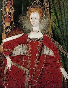Elizabeth I Queen of England Tudor