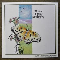 Dora-knutselhoekje: vlinder