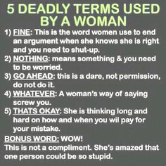 I love this...every guy should memorize this.