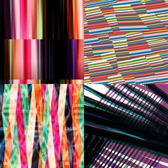Stripe Mix inspired Patternbank Studio Designs by: Luiz Londres, Stacey Liddall, Camila Coelho, Lubica Hlubenova