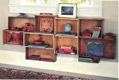 shelves, boxes & crates