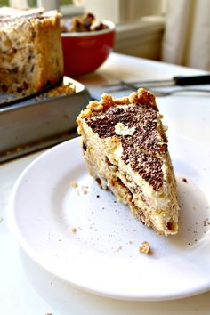Tiramisu Deep-Dish Pie with Coffee Crunch Crumble