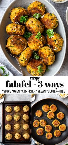 Falafel Recipe Canned, Best Falafel Recipe, Falafel Sauce Recipe, Chickpea Recipes, Vegan Recipes, Cooking Recipes, Easy Chickpea Recipe, Recipes With Chickpeas, Gourmet