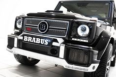 BRABUS 800 WIDESTAR (800 PS/ 789 hp) based on Mercedes-Benz  G 65 AMG