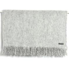 Holly's House - Grey Merino Wool Throw