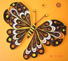 Image result for mariposas quilling