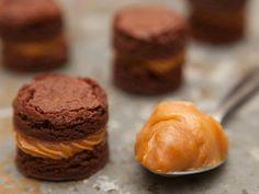Os mini brownies de doce de leite da Ana Foster podem receber diferentes embalagens